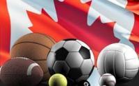 drapeau canada ballons et balles